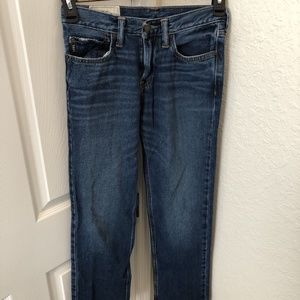 Abercrombie Kids Classic Straight Jeans 16 Slim